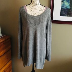 NY&CO Gray Sweater